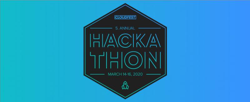 5. Annual Hackathon, March 14-16, 2020