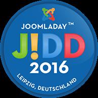 Logo JoomlaDay TM Deutschland 2016 in Leipzig