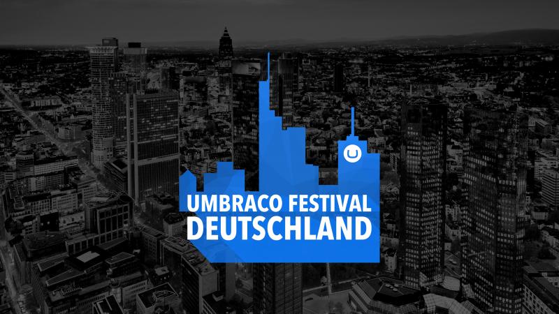 Umbraco-Festival Deutschland 2018