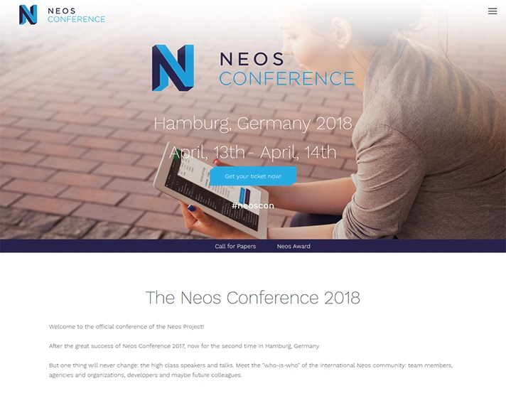 Neos Conference Website
