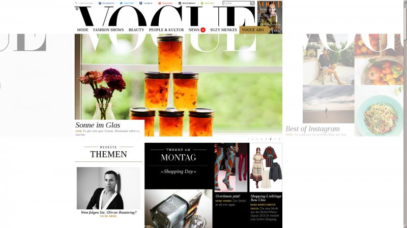 german Vogue magazine